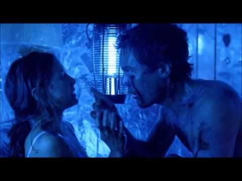 Bug ( 2006 ).... Peter stabs man to death in a paranoid frenzy  ( scene )