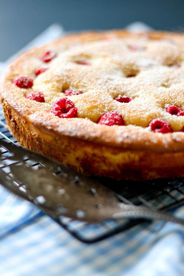 Lemon Raspberry Coffee Cake...<3