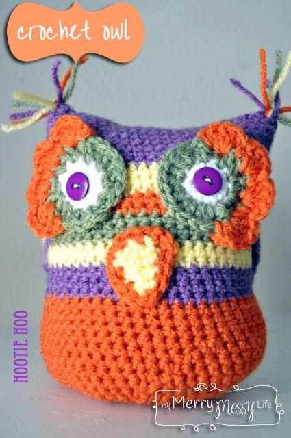 Crochet Owl: free pattern