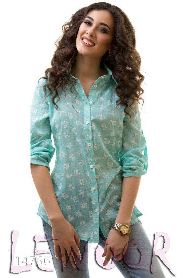 Лучшая батистовая рубашка-туника - купить оптом и в розницу, интернет-магазин женской одежды lewoor.com
