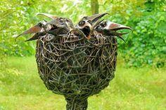What a great garden sculpture in Chippenham Park Gardens!