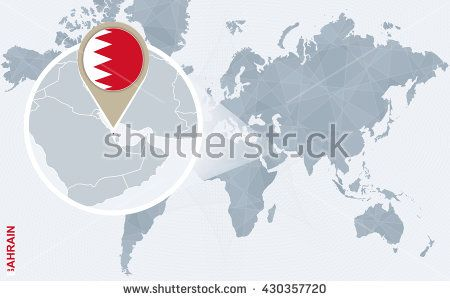 30 best hoodie images on pinterest cowl neck hoodie crow and hoodie abstract blue world map with magnified bahrain bahrain flag and map vector illustration gumiabroncs Gallery