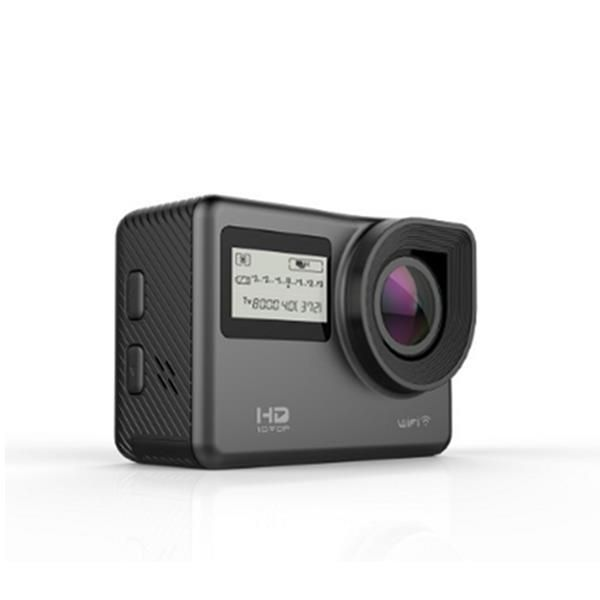 Ausek AT-S656 4K 170 Degree Ultra HD Wide-Angle Waterproof WIFI Sports Action Camera Black