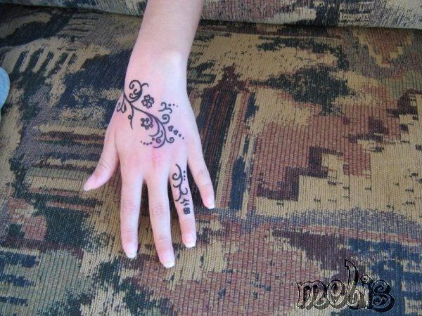 dövme yaptım, ^_^