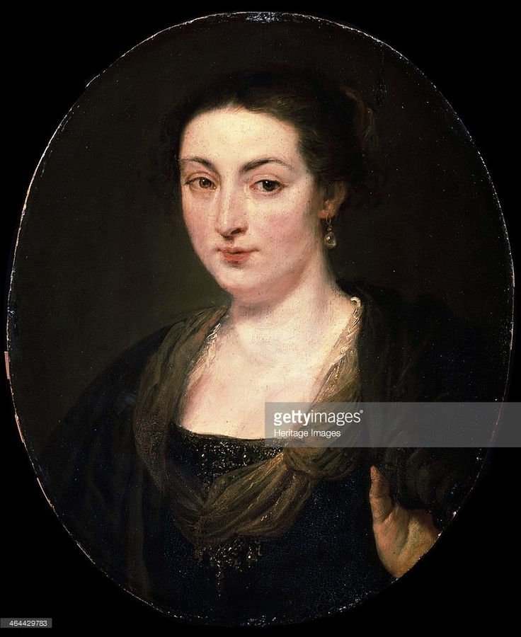 'Portrait of Isabella Brant', c1615-1620. Rubens, Pieter Paul (1577-1640). Found in the collection of the State A. Pushkin Museum of Fine Arts, Moscow.