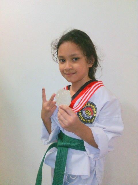 JTF juara 2 tingkat nasional cleo arnoya