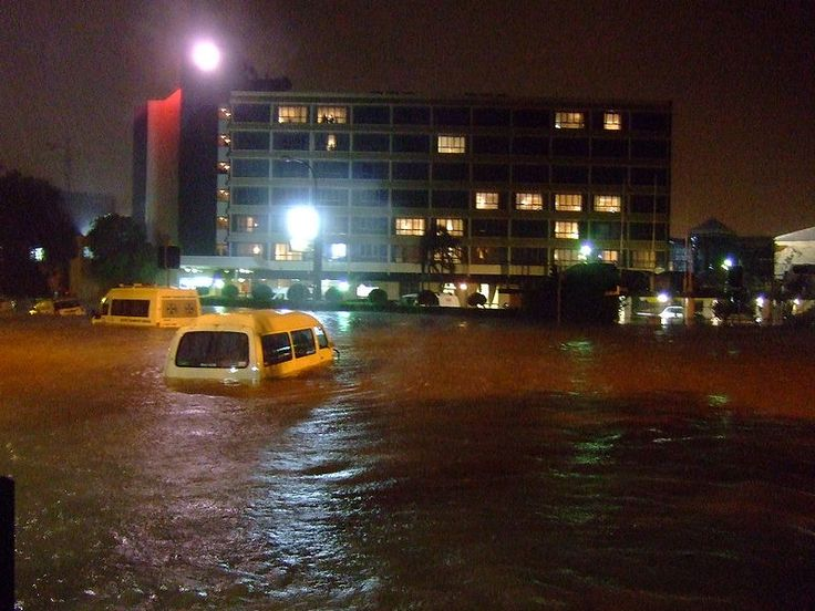steel & king st, Newcastle, NSW, 2008 Flood