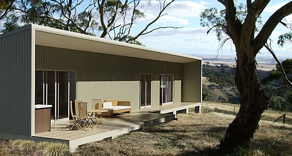 The jackaroo kit home from shack in a pack very simple for Shipping container kit homes