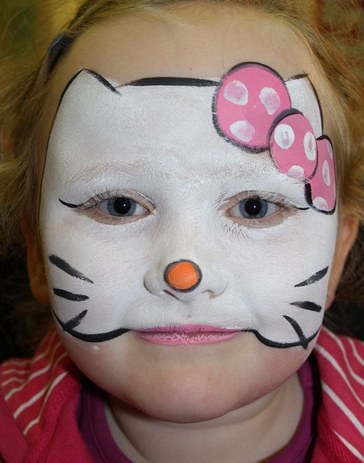 36 best images about halloween face paint on pinterest for Cute painting ideas for kids