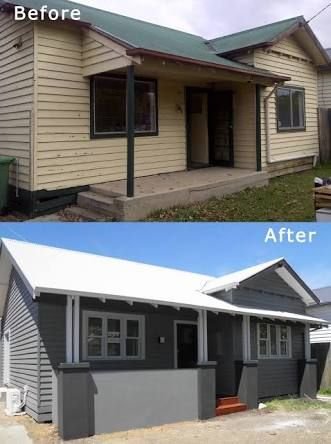 Image Result For Weatherboard Renovations Before And After Home