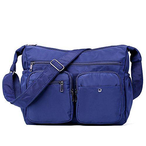 おすすめ ショルダーバッグ レディースナイロンバッグ 防水バッグ スポーツバッグ 斜めがけバッグショルダーバッグ ナイロン防水多機能小物整理鞄 カジュアル ユニセックスバッグ