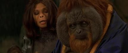 PLANET OF THE APES (2001) - Senator Nado (Glenn Shadix) Cowl Appliance and Bust - Price Estimate: $600 - $800