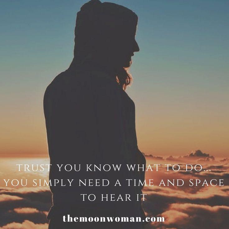 #themoonwoman #trust