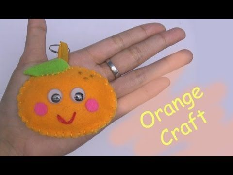 Craft For Kids Craft Orange Craft Easy Craft Handmade Nursery Rhymes