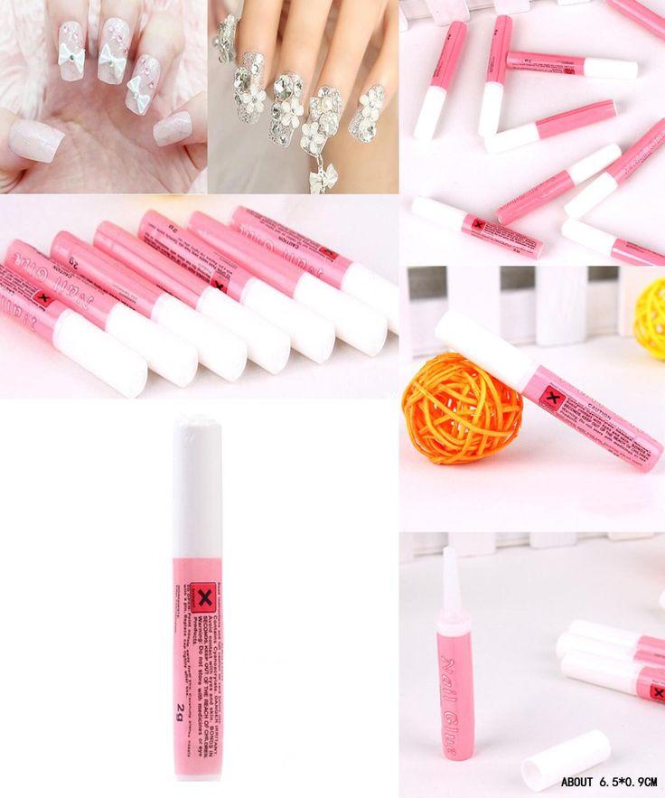 [Visit to Buy] 2g Mini Professional Beauty Nail False Art Decorate Tips Acrylic Glue Nail Accessories Drop Shipping NA-0178 #Advertisement