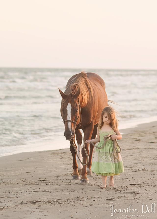 Jennifer Dell Photography - This reminds me of Dan.  He always said what is it with girls and horses and boys and bands!