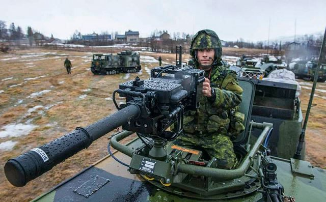 Approximately 350 Canadian soldiers are in Norway as part of a massive NATO cold-weather combat exercise. Organized and led by the Norwegian Joint Headquarters, the exercise involves some 16,000 personnel on land, at sea and in the air from 16 countries.