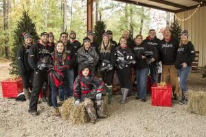 Polaris RZR teamed with country superstar Brantley Gilbert and DAV (Disabled American Veterans) to spread some cheer this holiday season to three veterans and their families.