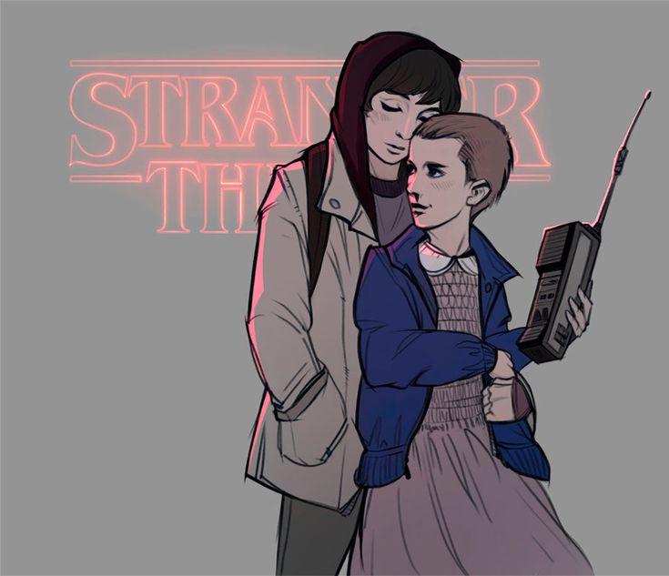 Stranger Things Mike and Eleven Mileven - 030917 by LeKsoTiger.deviantart.com on @DeviantArt