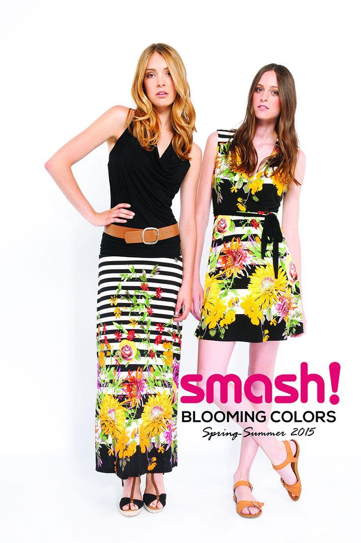 #summer #dress #smash #barcelona #flowers #yellow