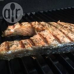 BBQ Salmon Steaks with Italian Herbs @ allrecipes.com.au