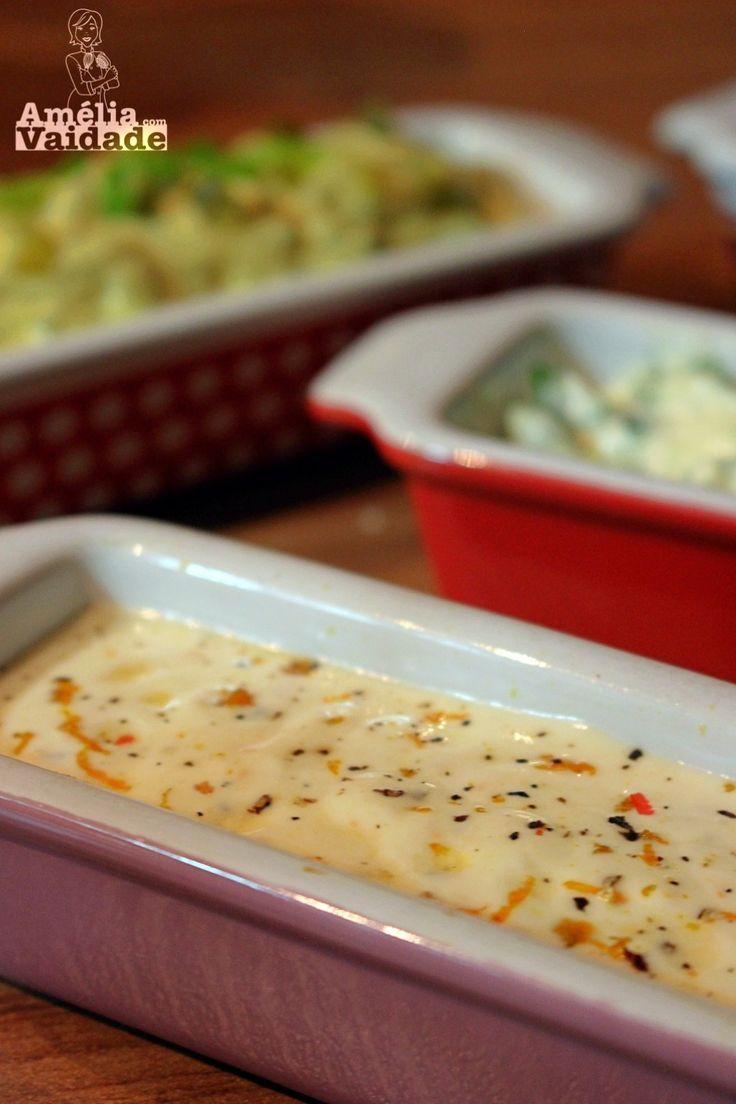 Molho Cremoso de Limão é super versátil e muito fácil de preparar. Com poucos ingredientes você tem um molho perfeito para acompanhar um fondue de carne, uma salada ou compor um sanduíche. Confira agora mais uma delícia do Amélia com Vaidade!