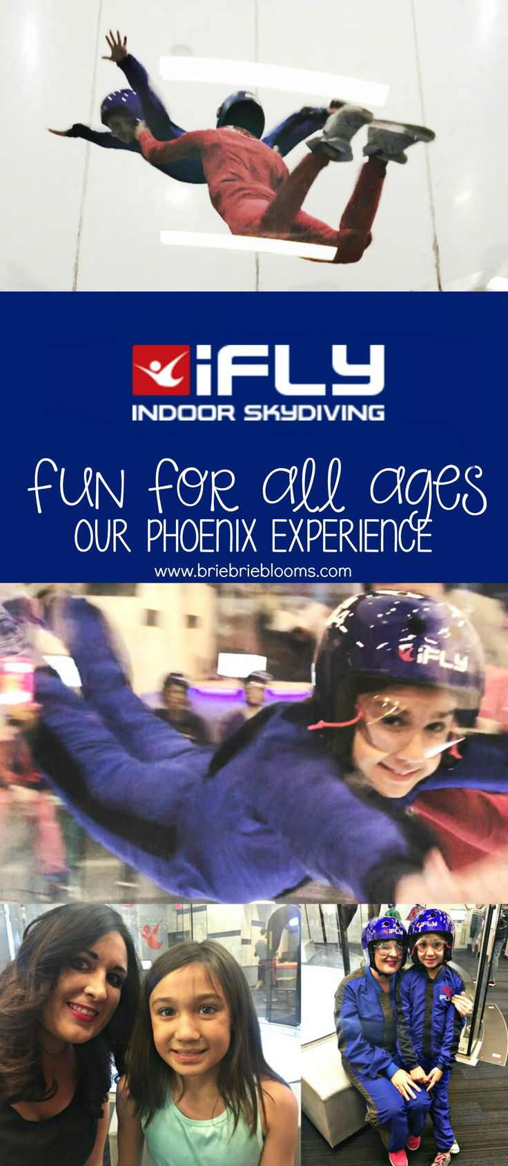 iFLY Indoor Skydiving is a great family activity fun for all ages. Our first skydiving experience at iFLY Phoenix was awesome! Check to see if there is an iFLY near you or where you're traveling. #iFLYPHX #iFLYTV #iFLYSocial #ad