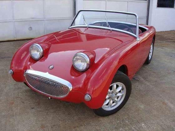 1961 Austin Healy Bug Eye Sprite Vintage Cars Pinterest
