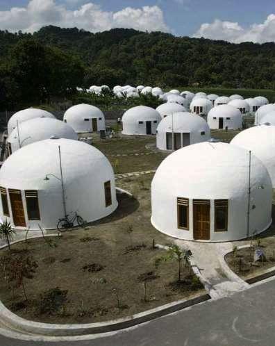 Dome Houses - Sumberharjo Village, Yogyakarta <3