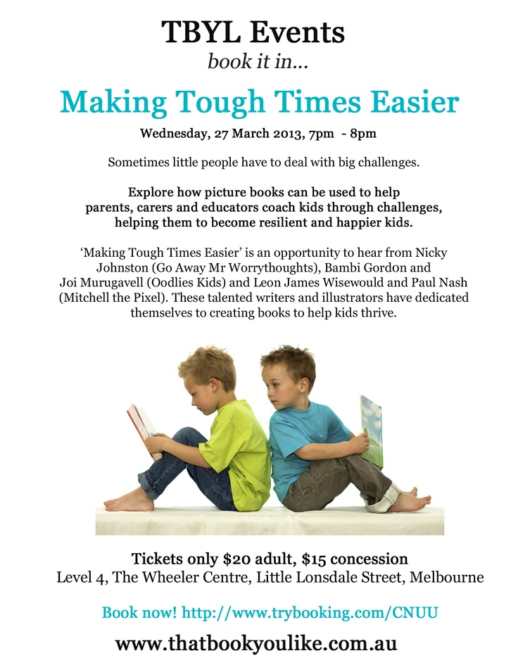 """Our very first TBYL Event, """"Making Tough Times Easier"""" March 2013"""