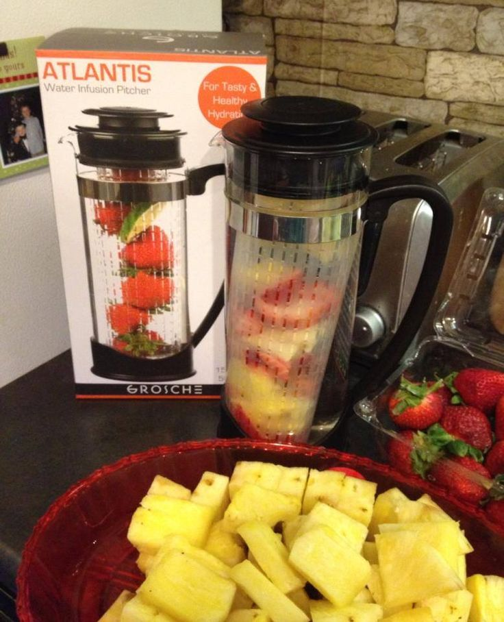 Are you looking for a tasty and healthy alternative to sugary pop and sodas? Wanting to reduce the amount of sugars your family are consuming with store bought juices and drinks? Then the Atlantis Water fruit infuser is the answer for you!