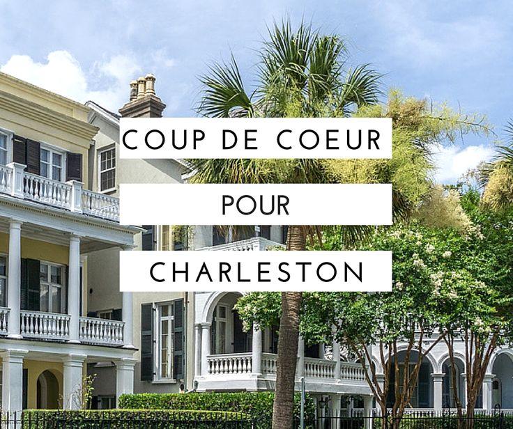 Après Savannah, voici Charleston, en Caroline du Sud. Enorme coup de coeur pour cette ville où il fait bon vivre.