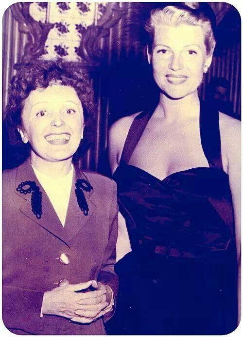 Edith Piaf et Rita Hayworth http://www.editionsmontparnasse.fr/p1105/Chanteurs-de-toujours-Volumes-1-et-2-DVD