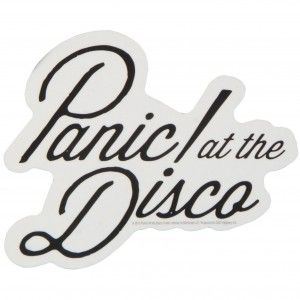 Panic At The Disco Logo Sticker