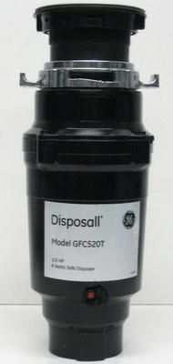 GE Disposall Garbage Food Waste Disposer 1/2 HP GFC520V