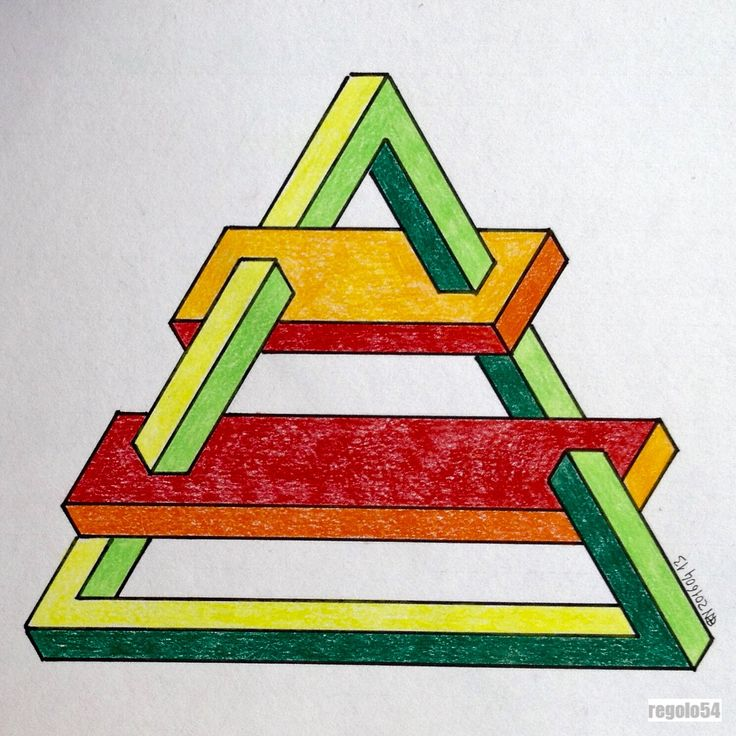 Pin by timoteo velosa on illusion impossible pinterest for Geometric illusion art