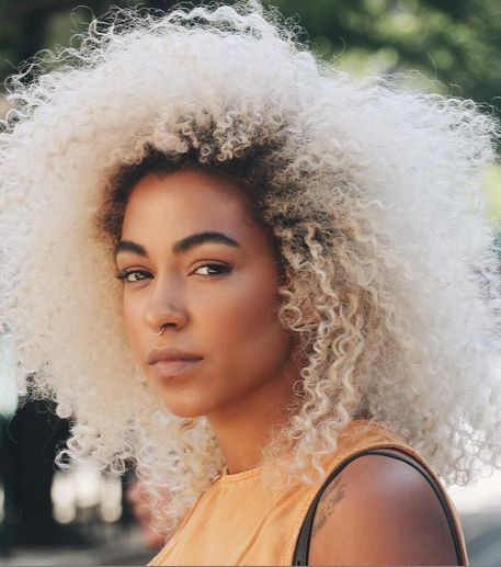 @kassalaholdsclaw's IG account will have you mesmerized over her platinum curls.