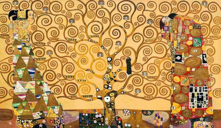 L'albero della vita - Gustav #Klimt ( 1905-1909 ) #picoftheday #artsharing