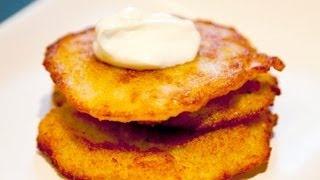 Potato Pancakes - Placki Ziemniaczane - Ania's Polish Food Recipe #1, via YouTube.