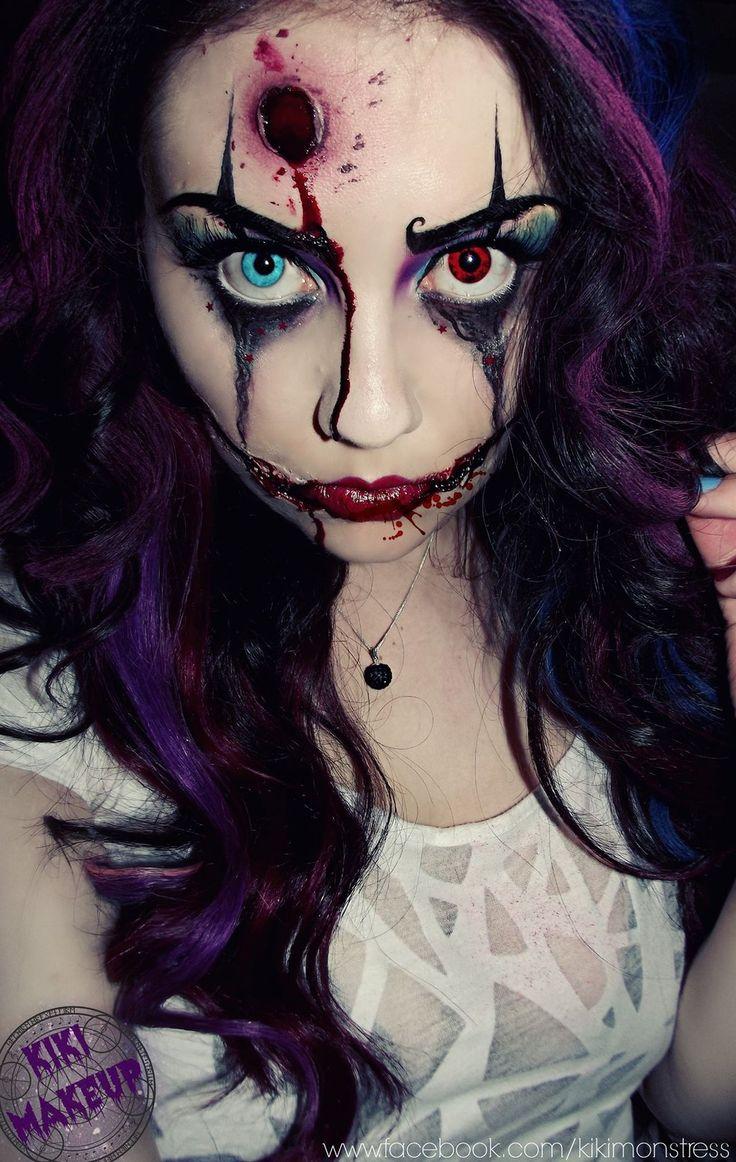 Zombie Clown by KikiMJ.deviantart.com on @deviantART