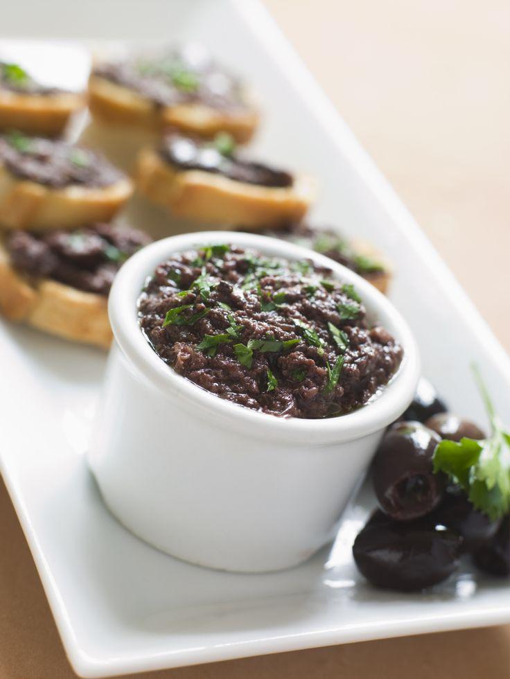 Pasta de azeitona preta