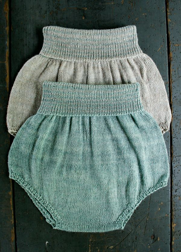 Whit's Knits: Baby Bloomers - The Purl Bee - Knitting