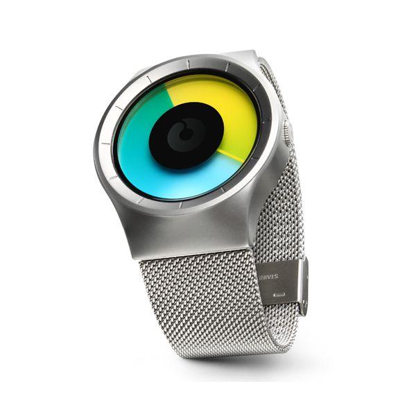 ZIIIRO Celeste Chrome/Coloured   Clockwize Watch Shop