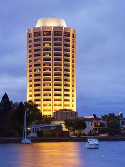 Wrest Point Hotel Casino Hobart, Tasmania,  Australia