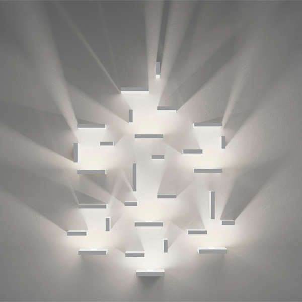 Set Lights by J Ll Xuclà - Designed for lighting retailer Vibia, these Set Lights by J Ll Xuclà evoke an ethereal and otherworldly glow when displayed within any moder...