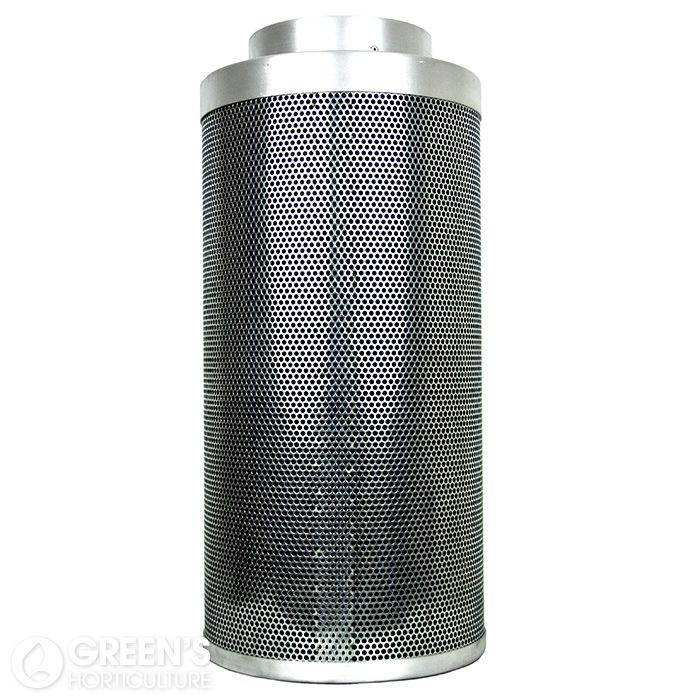 This 12 inch carbon filter from market leading manufacturers Rhino Ventilation offers serious odour control. The Rhino Pro range of carbon filters are widely regarded as being the best filters available for horticultural use. Offering extremely effective filtration for at least two years (and often longer), Rhino Pro have firmly earned a great reputation in the horticultural industry.