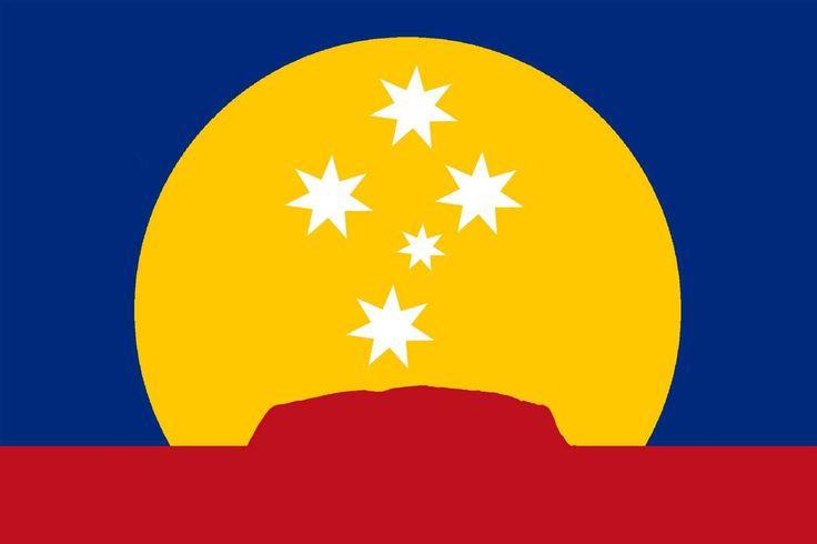 New Australian Flag proposal _ Kevin Wilton (2015)