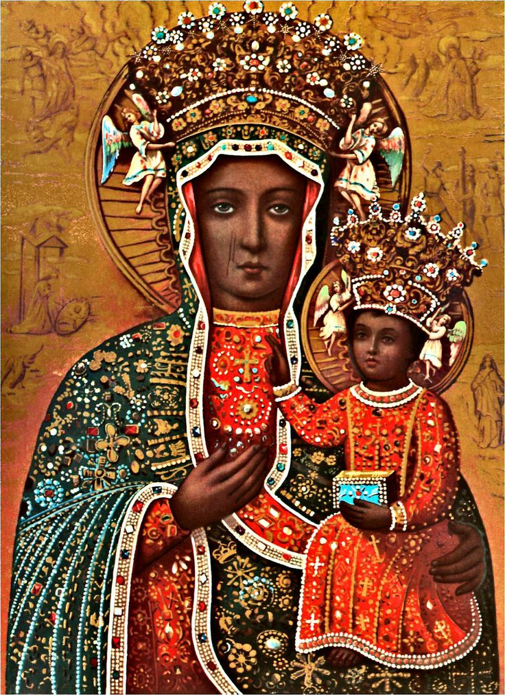 The Black Madonna of Częstochowa