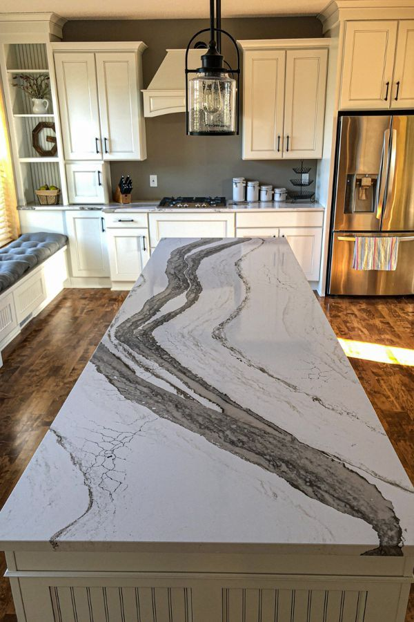 Awesome And Useful Quartz Kitchen Countertops Design Ideas Page 29 Of 64 Evelyn S World My Dreams My Colors And My Life In 2021 Cheap Kitchen Countertops Stone Countertops Kitchen Best Countertops