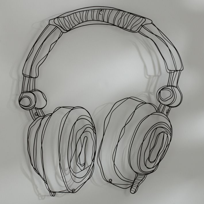 #PBTeen Wire Earphones for wall decor